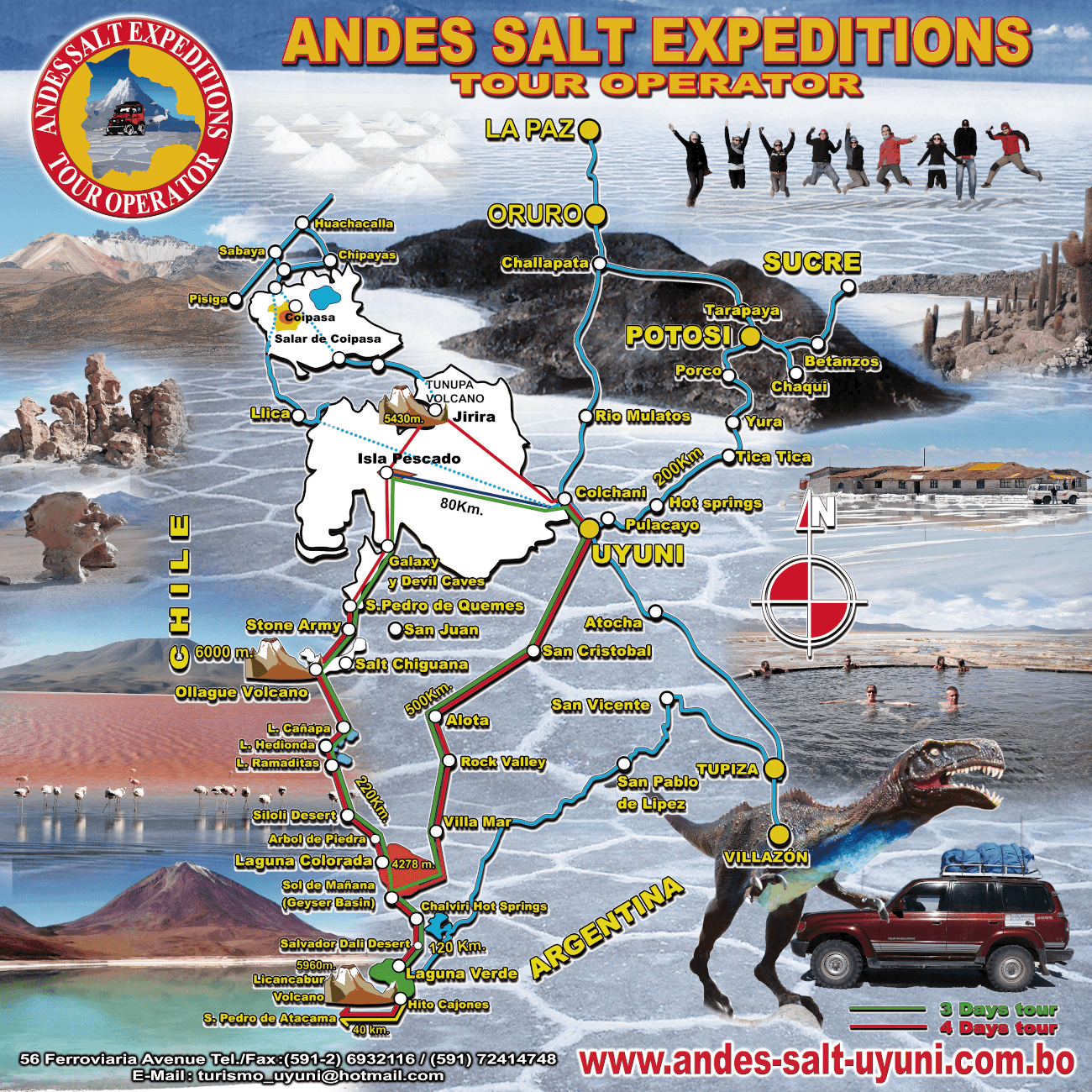 Andes Salt Expeditions